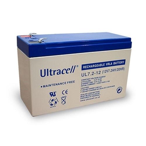 Ultracell Bleiakku Akku Wiederaufladbare Batterie 12 V 7,2 Ah