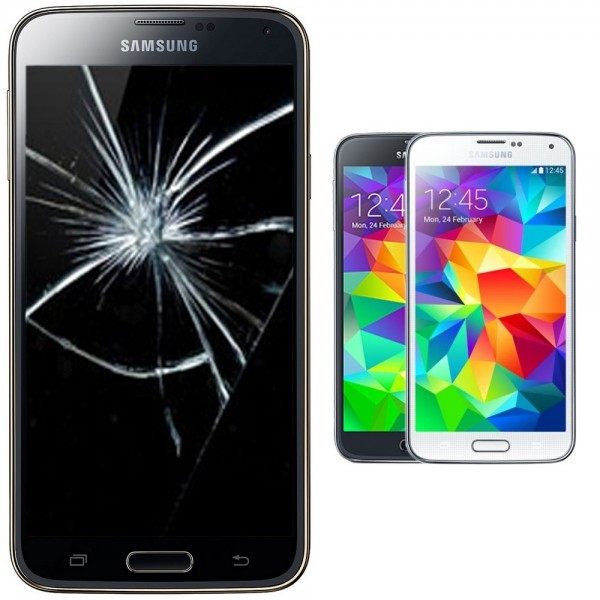 Samsung Galaxy S5 mini Reparatur Display Scheibe Glasscheibe