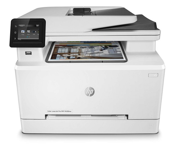 HP Color LaserJet Pro M280nw Laserdrucker Kopierer Scaner Drucker LAN WLAN
