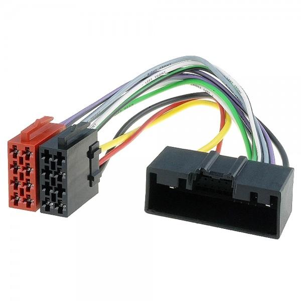 KFZ Autoradio ISO Stecker Kabel Adapter 63B für Ford & Opel