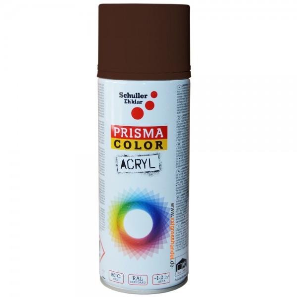 Spraydose Lackspray Sprühfarbe - Farbe RAL 8016 mahagonibraun