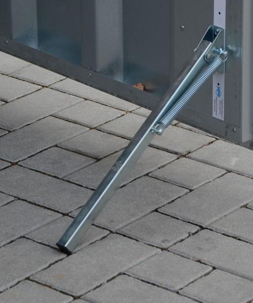 Feder Türstopper Bodenstopper Feststeller Stopper Türhalter verzinkt