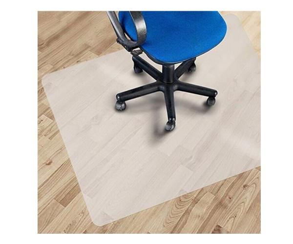 Bodenschutzmatte Unterlage transparent für Bürostuhl 1000x900x2mm