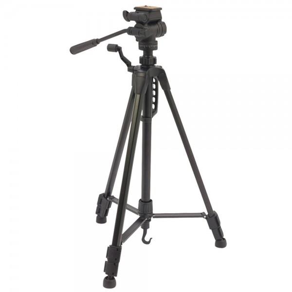 Premium Kamera Stativ & Camcorder Stativ S10 145cm 360° Gummifüsse