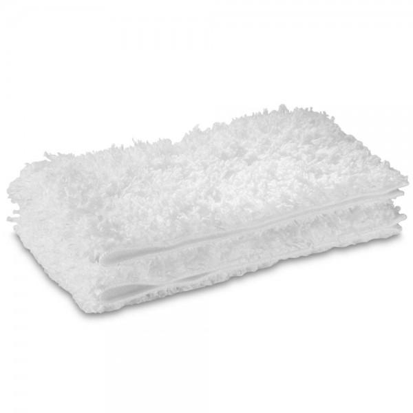2x Mikrofaser Tuch Comfort Plus für Kärcher Dampfreiniger Bodendüse 2.863-020.0