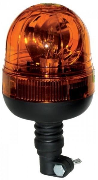 Rundumleuchte Flexiblefuss 12/24V H1 Stelux Lampe Deckglas