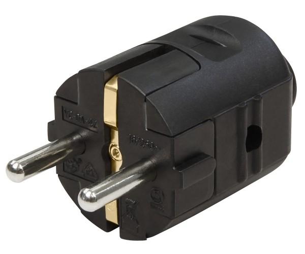 Schutzkontakt Stecker Typ-F Zentralstecker 250 V 10-16A