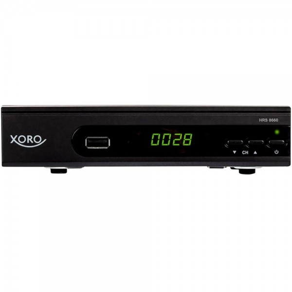 XORO HRS 8660 digitaler Satelliten Receiver HDTV DVB-S2 USB Aufnahmefunktion