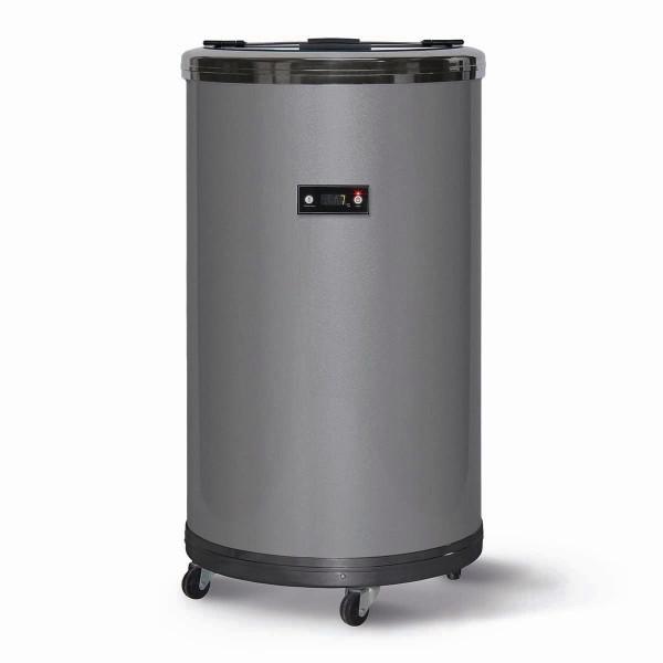 Party Kühlschrank Kühlbox Kühltonne mit Glasdeckel 50l 0-16°C Kompressorkühlung