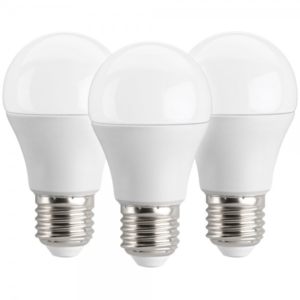 3x LED Lampe E27 5,5W ersetzt 40W 470lm Glühlampe Birnenform warmweiss
