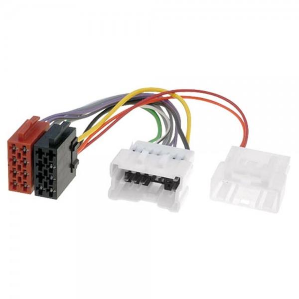 Autoradio Adapter ISO Radioadapter Stecker 66B für Dacia