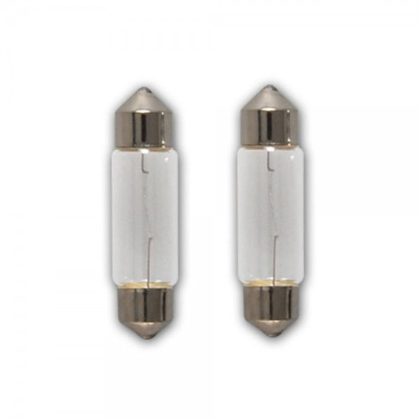 2x Soffitten Lampe KFZ Auto Beleuchtung 5W 12V C5W SV8,5 11x38
