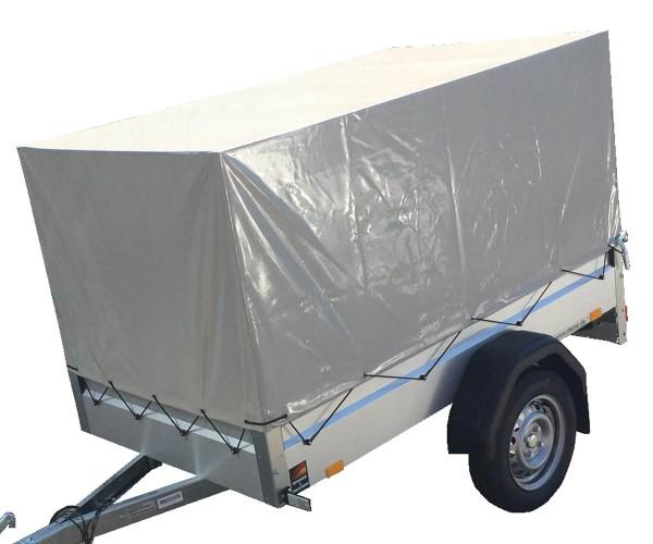 Stema Hochplane Grau 80cm inkl. Hochspriegel und Planenschnur für Stema FT OPTI AN 750 DBL 850