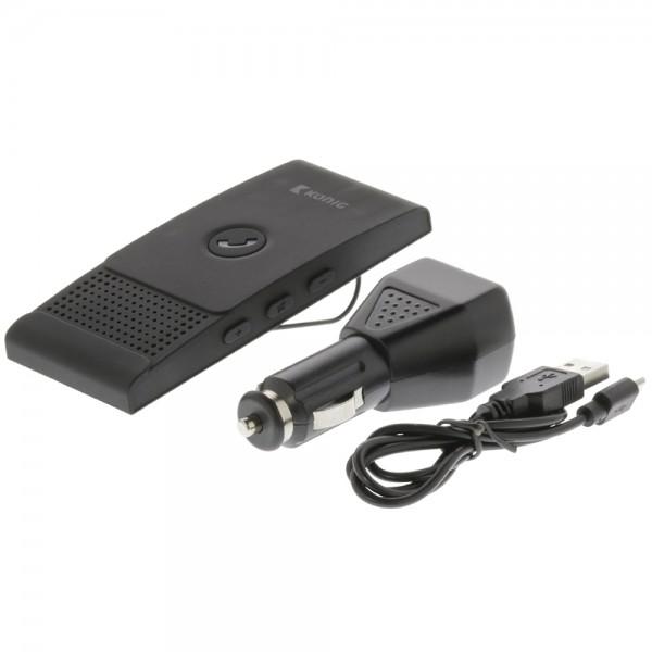 Auto Kfz Bluetooth Freisprecheinrichtung Sonnenblende für Handy Smartphone