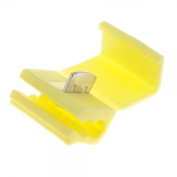 5x Kabelverbinder Abzweigverbinder Klemmverbinder 4 - 6 mm² IDC gelb