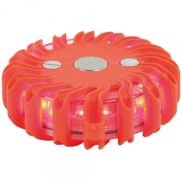 LED Deko Blinkleuchte Partylicht Starke Leuchte 360° mit 9 Stufen