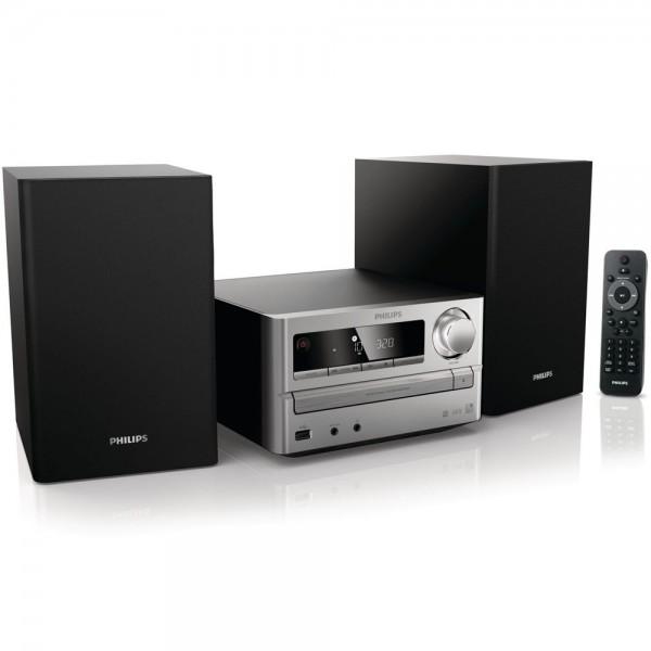 Philips MCM2000 /12 Mini Stereoanlage Microsystem USB MP3 WMA CD-R/RW