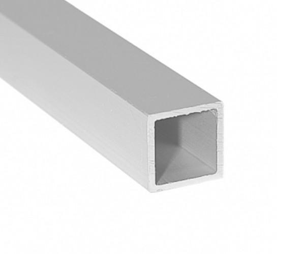 Aluminium Alu Profil Quadratrohr vierkant 25x25x1000mm