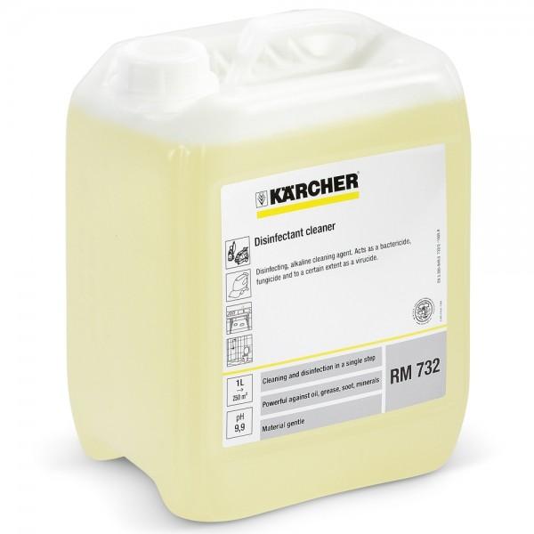 Kärcher Desinfektionsreiniger Desinfektionsmittel RM732 5L Kanister Reinigungsmittel 6.295-596.0