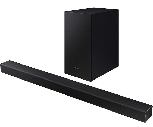 Samsung Soundbar HW-T430/UF 100 Watt 2.1 Subwoofer Lautsprecher Bluetooth Schwarz