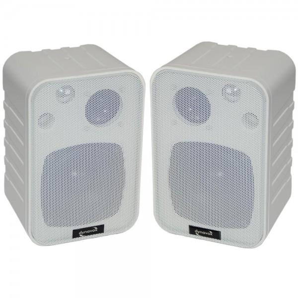 HiFi Lautsprecher Dynavox LS-5L3 Mini Box 3-Wege 60W 1-Paar weiss