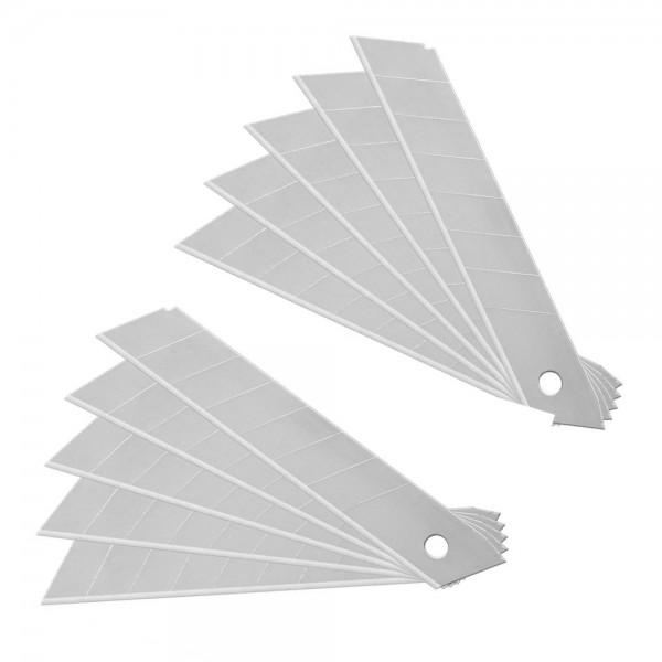 Abbrechklingen Ersatzklingen 18mm für Messer Mehrzweckmesser Teppichmesser