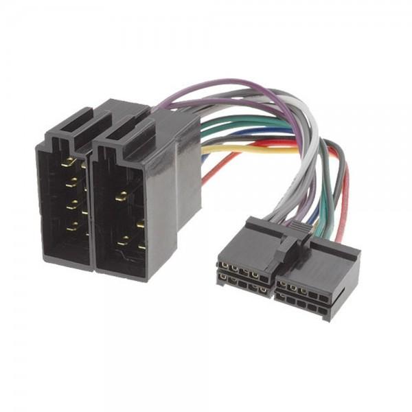 Autoradio Kabel Adapter Stecker ISO 20P für Prology CMD-120 & AEG 530
