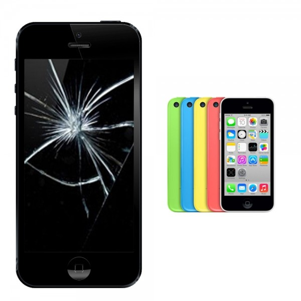 Apple iPhone 5c Display Glasscheibe Reparatur