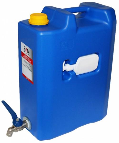 Kanister Wasserkanister 20l mit Wasserhahn und Seifenspender für LKW Camping