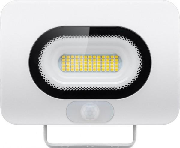 LED-Außenstrahler, 30 W, Slim Design, mit Bewegungsmelder