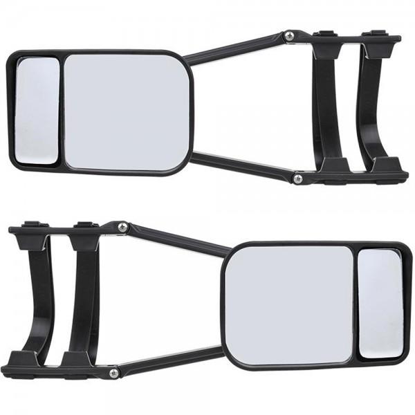 2x Spiegel Seitenspiegel Wohnwagenspiegel Anhängerspiegel Caravanspiegel
