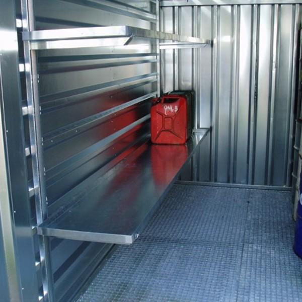 Container Regale 1 Meter Stecksystem SET 3x Regalböden für Lagercontainer