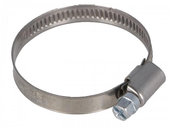 Schlauchschelle Rohrschelle Bandbreite 9 mm Ø 40-60mm DIN 3017 Schneckengewinde