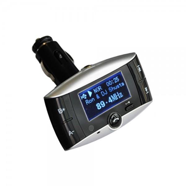 KFZ MP3 Transmitter Bluetooth Freisprecheinrichtung Freisprechanlage A87