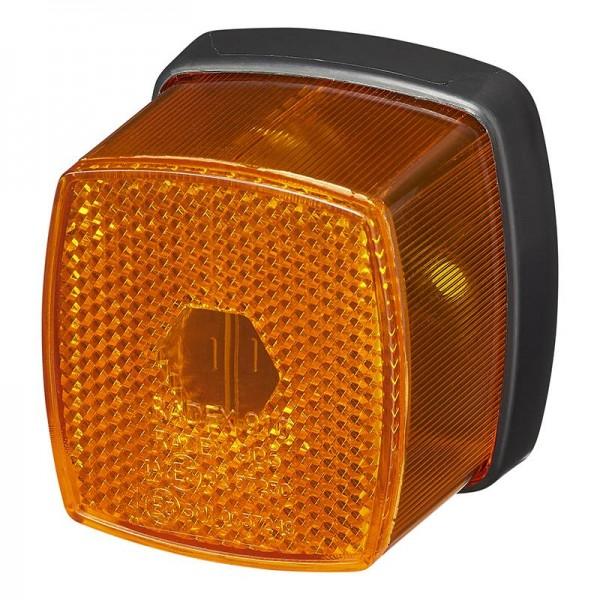 Seitenleuchte Begrenzungsleuchte orange Radex906 für Anhänger Wohnmobil Bauwagen