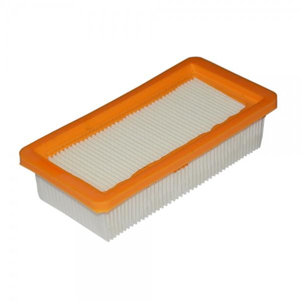 Flachfaltenfilter Filter 6.414-971.0 für Kärcher WD 7000 7700 7200 7300 7500