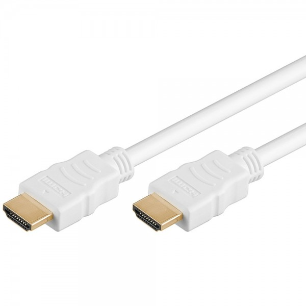 Premium High Speed HDMI Kabel 1m FULL HD PS3 TV Video 19 Pin vergoldet