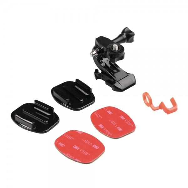 Halterung Helmhalterung Set für Action Kamera Go Pro Hero 3 4 u. a. Hersteller