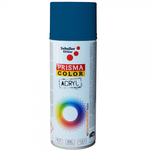 Spraydose Lackspray Sprühfarbe - Farbe RAL 5010M enzianblau matt