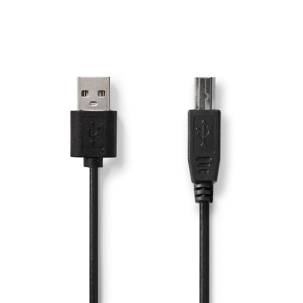 Premium USB 2.0 Kabel geschirmt Datenkabel Druckerkabel 3m A Stecker - B Stecker