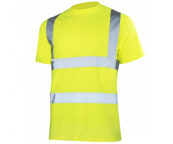 Arbeitsshirt Warnschutz T-shirt reflektierend Größe M