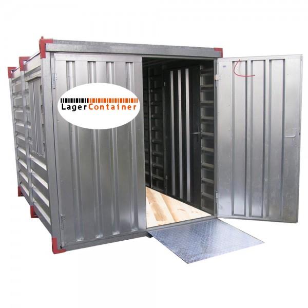 Systafex Container Lagercontainer Auffahrrampe Hubwagen Rampe 1000kg