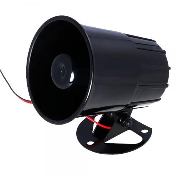 kfz auto alarm sirene 6ton 12v signalhorn horn fanfare f r alarmanlage kfz nachr stung auto. Black Bedroom Furniture Sets. Home Design Ideas