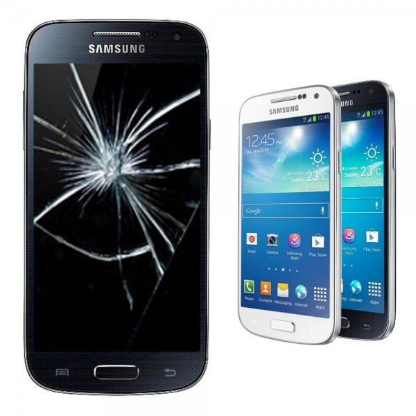 Samsung Galaxy S4 mini Reparatur Display Scheibe Glasscheibe