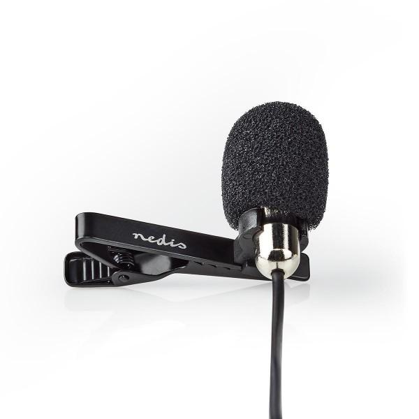 Lavalier Influencer Mikrofon Ansteckmikrofon Clip-On 3,5mm Klinkenstecker