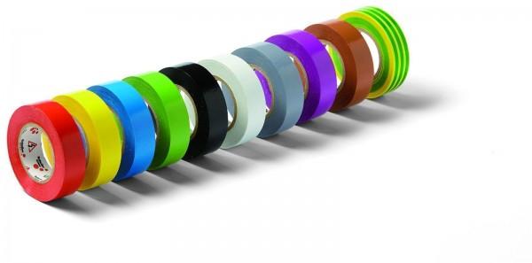 Isolierband Elektroisolierband aus PVC 15mmx10m gelb/grün Erdung