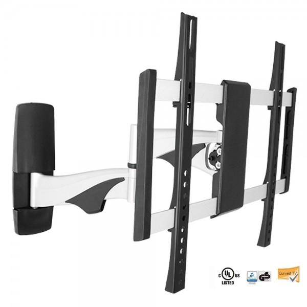 Premium Alu TV Wandhalterung W23 für Fernseher 32 - 55 Zoll Halterung Schwenkbar