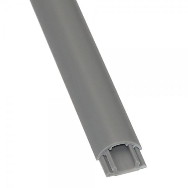 Kabelkanal 6x20mm Kabelschacht Kabelführung Kabelleiste 1m grau