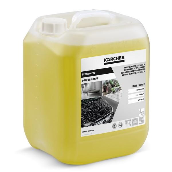 Pressurepro Aktivreiniger, alkalisch RM 81 Direct 6.296-123.0 Kanister 10 Liter