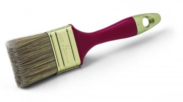 Pinsel 50 mm Flachpinsel für Lasuren und Holzschutz